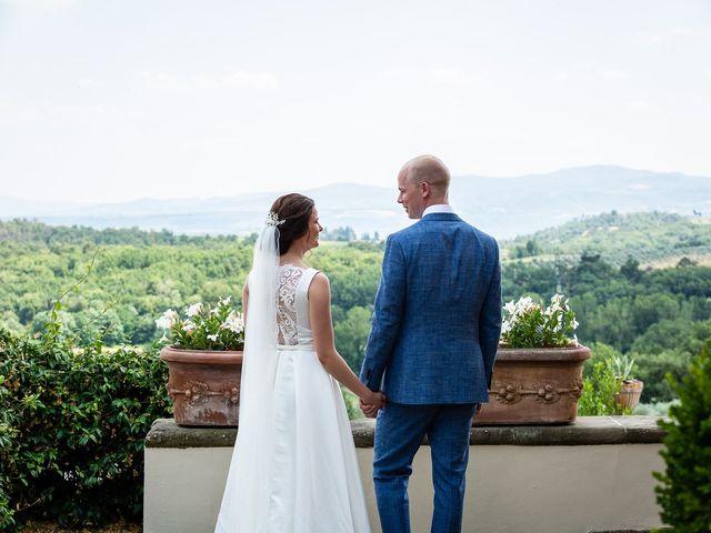 Il matrimonio di Mathias e Elenor a Incisa in Val d'Arno, Firenze 62
