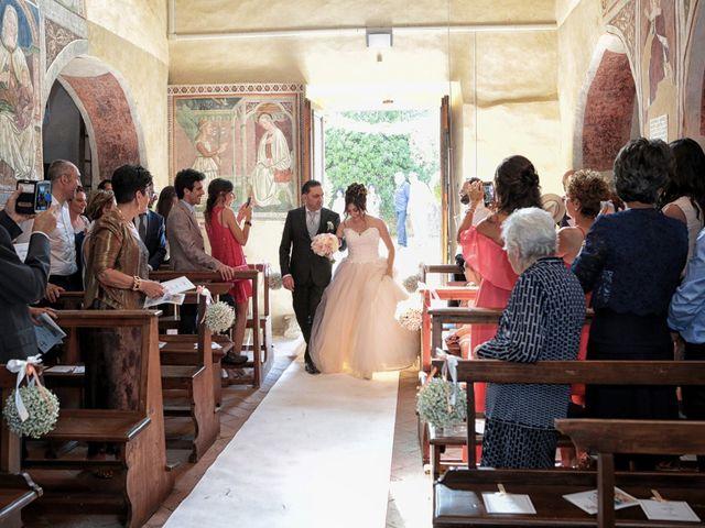Il matrimonio di Luca e Giulia a Foiano della Chiana, Arezzo 16