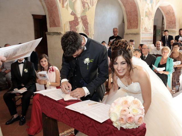 Il matrimonio di Luca e Giulia a Foiano della Chiana, Arezzo 19
