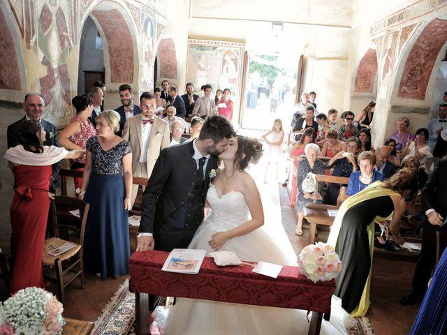 Il matrimonio di Luca e Giulia a Foiano della Chiana, Arezzo 23