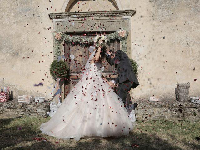 Il matrimonio di Luca e Giulia a Foiano della Chiana, Arezzo 24