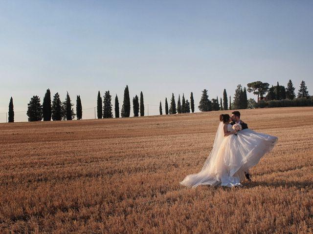 Il matrimonio di Luca e Giulia a Foiano della Chiana, Arezzo 27