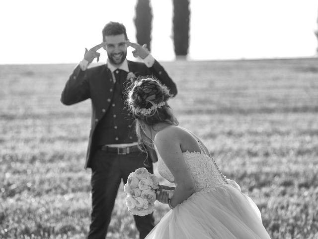 Il matrimonio di Luca e Giulia a Foiano della Chiana, Arezzo 35