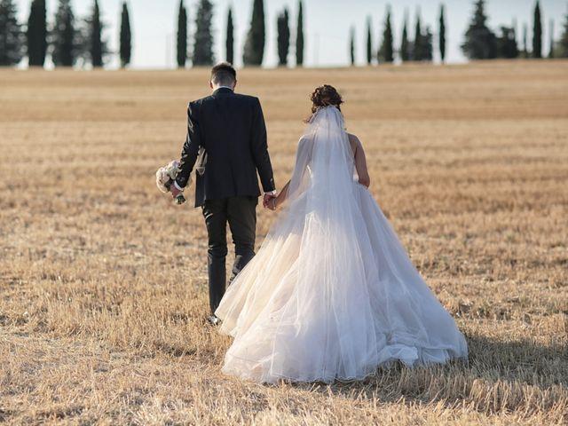 Il matrimonio di Luca e Giulia a Foiano della Chiana, Arezzo 38