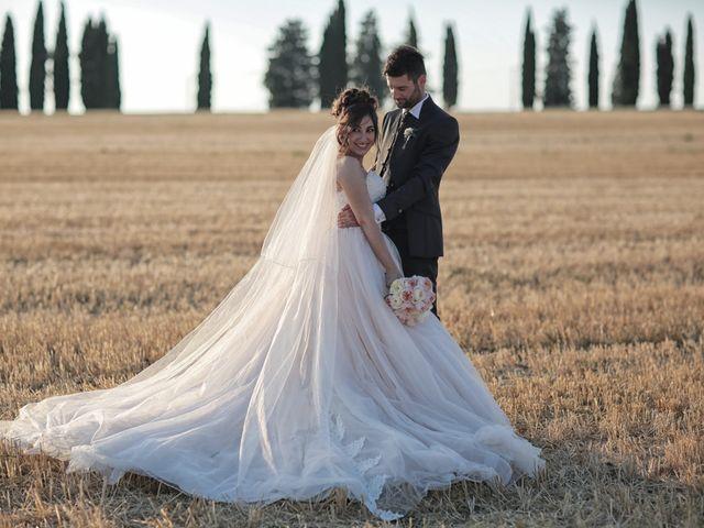 Il matrimonio di Luca e Giulia a Foiano della Chiana, Arezzo 44