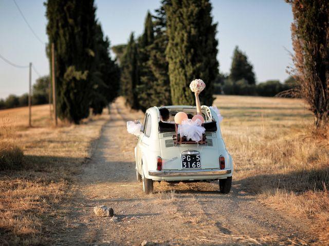 Il matrimonio di Luca e Giulia a Foiano della Chiana, Arezzo 47