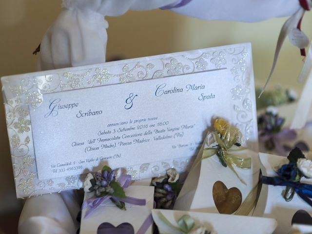 Il matrimonio di Giuseppe e Carolina a Valledolmo, Palermo 1