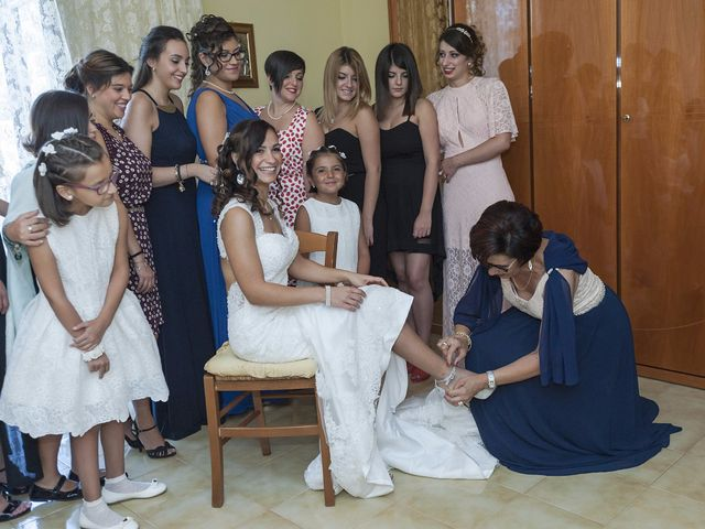 Il matrimonio di Giuseppe e Carolina a Valledolmo, Palermo 10