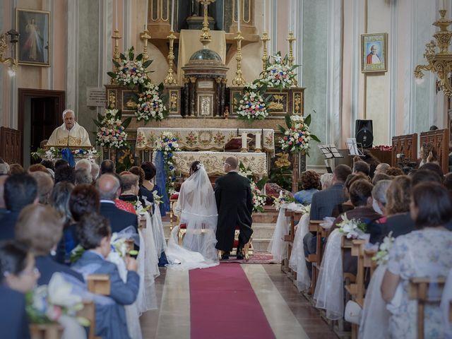 Il matrimonio di Giuseppe e Carolina a Valledolmo, Palermo 25