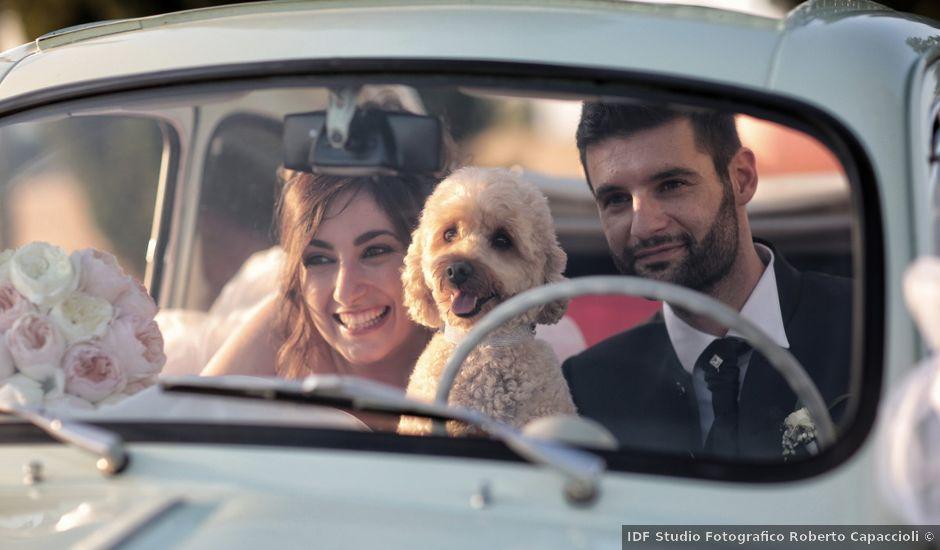 Il matrimonio di Luca e Giulia a Foiano della Chiana, Arezzo