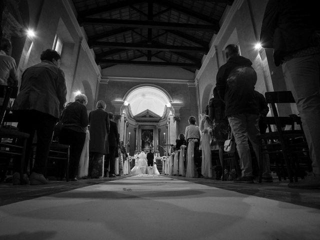 Il matrimonio di Moreno e Letizia a Monsano, Ancona 44