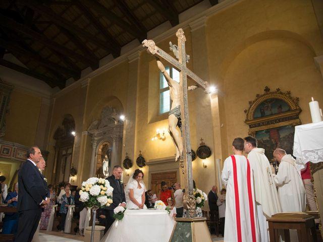 Il matrimonio di Moreno e Letizia a Monsano, Ancona 51