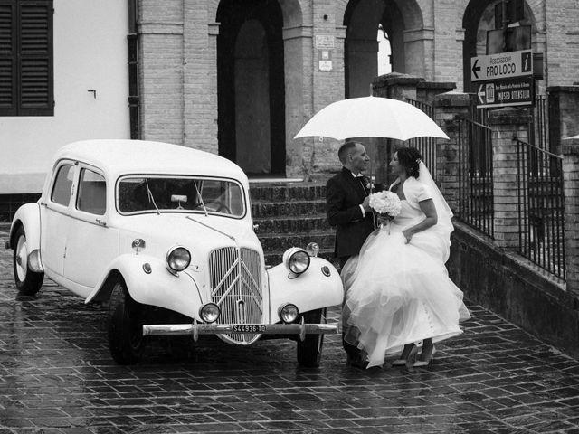 Il matrimonio di Moreno e Letizia a Monsano, Ancona 73