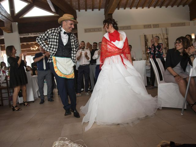 Il matrimonio di Moreno e Letizia a Monsano, Ancona 88