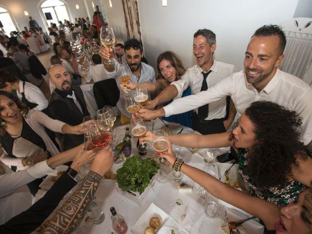 Il matrimonio di Moreno e Letizia a Monsano, Ancona 91