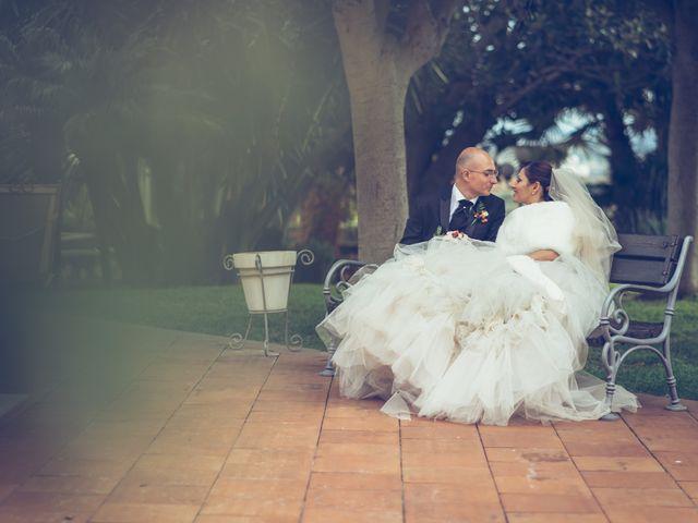 Il matrimonio di Filippo e Vita a Valverde, Catania 55