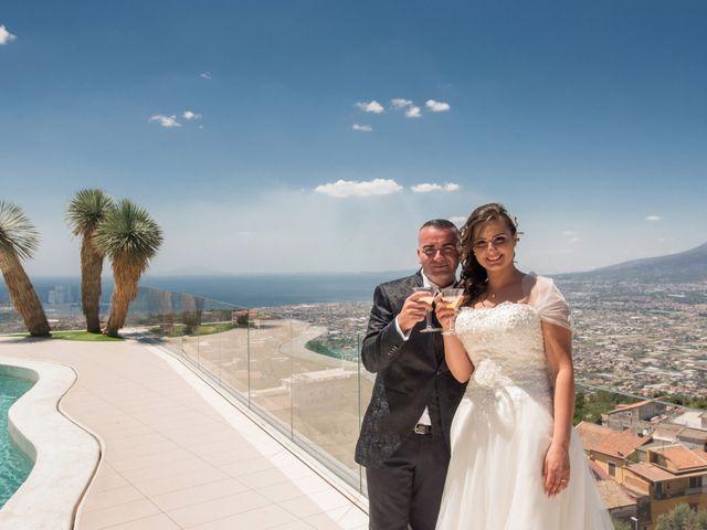 Il matrimonio di Pasquale e Teresa a Lettere, Napoli 2
