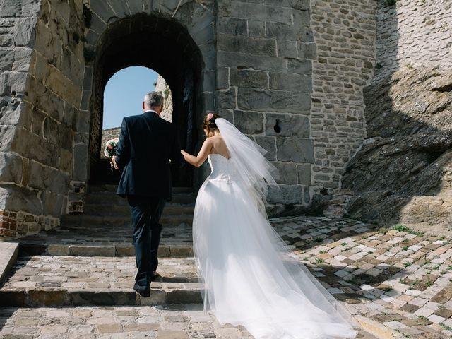 Il matrimonio di Marco e Maria a San Leo, Pesaro - Urbino 9