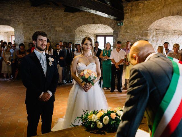 Il matrimonio di Marco e Maria a San Leo, Pesaro - Urbino 12