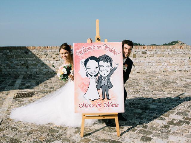 Il matrimonio di Marco e Maria a San Leo, Pesaro - Urbino 15