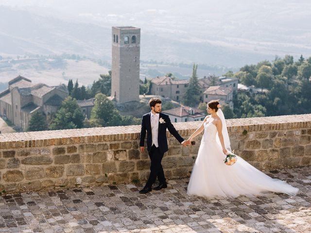 Il matrimonio di Marco e Maria a San Leo, Pesaro - Urbino 16