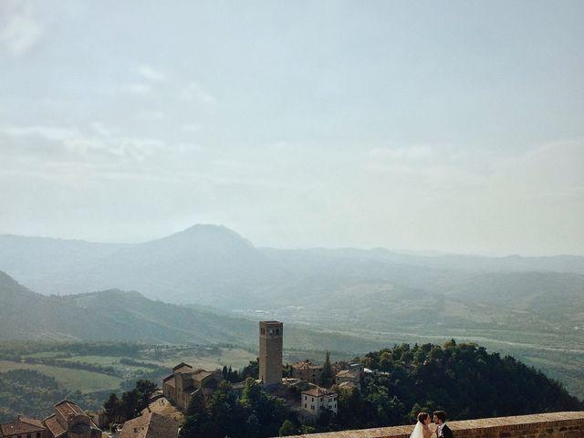 Il matrimonio di Marco e Maria a San Leo, Pesaro - Urbino 17