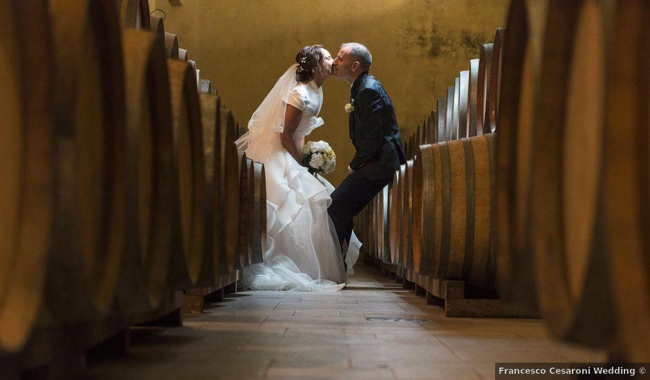 Il matrimonio di Moreno e Letizia a Monsano, Ancona
