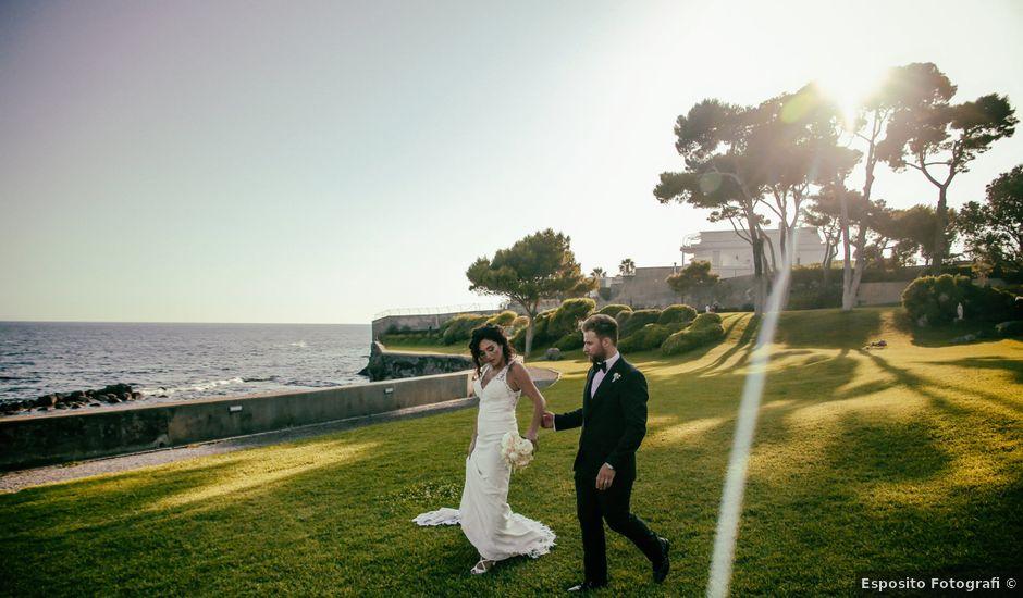 Il matrimonio di Laura e Michele a Torre del Greco, Napoli