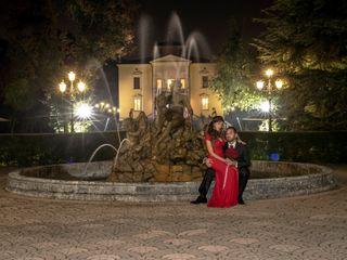 Le nozze di Melania e Luigi
