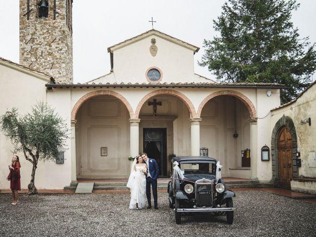 Il matrimonio di Lapo e Claudia a San Casciano in Val di Pesa, Firenze 50