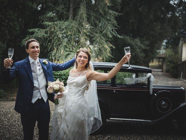 Il matrimonio di Lapo e Claudia a San Casciano in Val di Pesa, Firenze 56