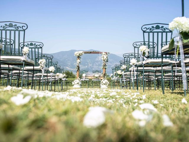 Il matrimonio di Andrea e Valeria a Iseo, Brescia 41