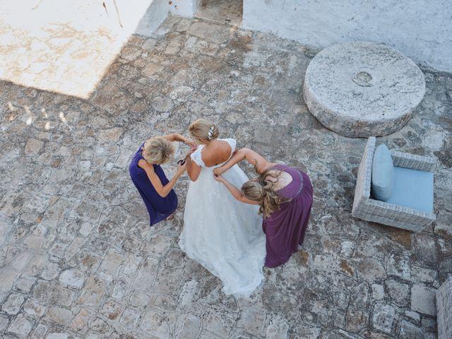 Il matrimonio di Stefano e Laura a Fasano, Brindisi 33