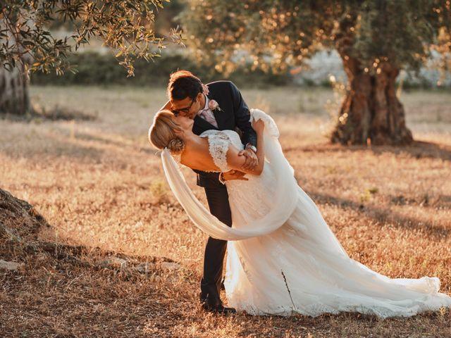 Il matrimonio di Stefano e Laura a Fasano, Brindisi 89