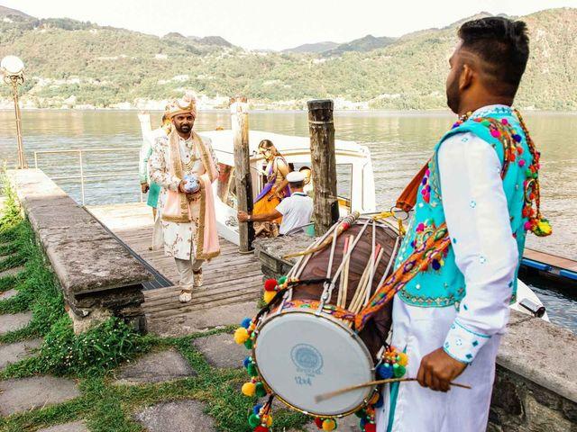 Il matrimonio di Karan e Nili a Orta San Giulio, Novara 7