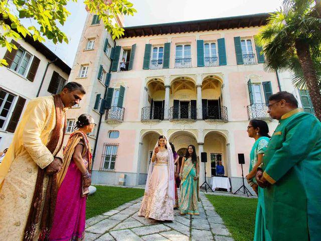 Il matrimonio di Karan e Nili a Orta San Giulio, Novara 16