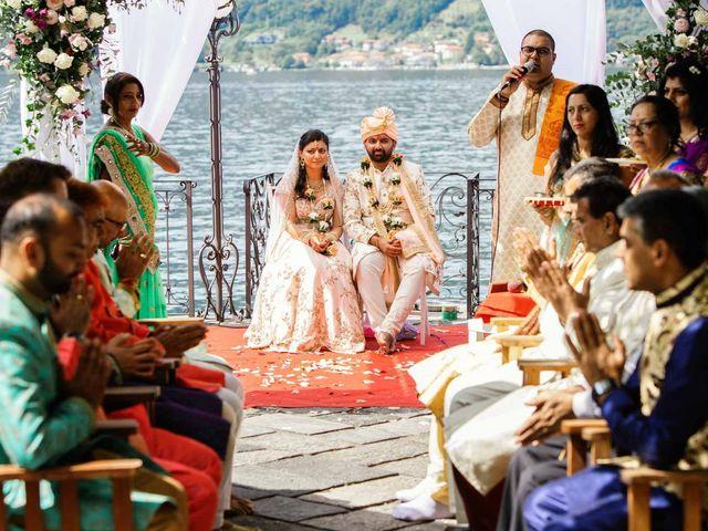 Il matrimonio di Karan e Nili a Orta San Giulio, Novara 25