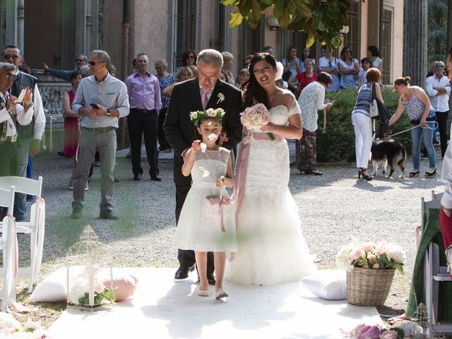 Il matrimonio di Andrea e Gessica a Besana in Brianza, Monza e Brianza 16