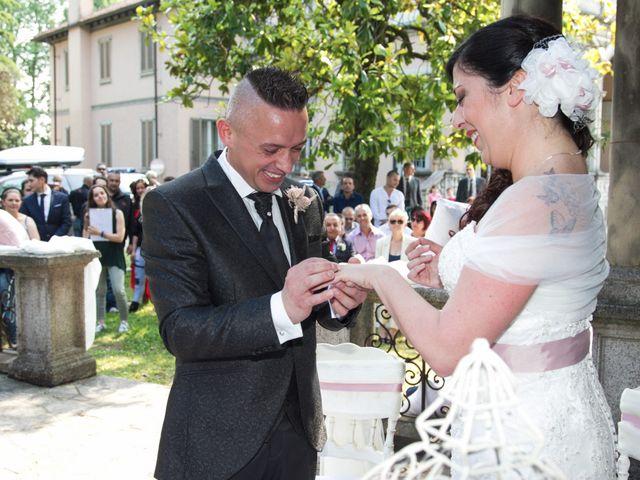 Il matrimonio di Andrea e Gessica a Besana in Brianza, Monza e Brianza 18