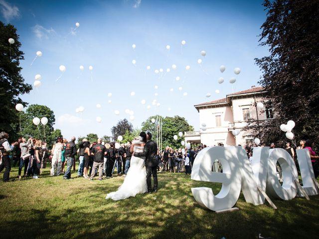 Il matrimonio di Andrea e Gessica a Besana in Brianza, Monza e Brianza 20