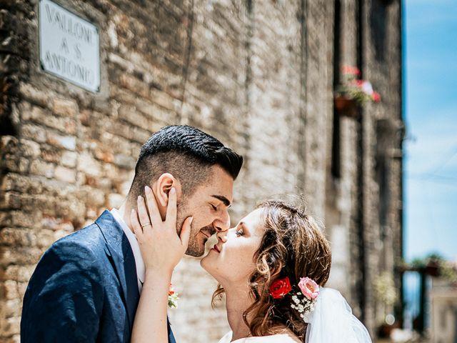 Il matrimonio di Simone e Simona a Tocco da Casauria, Pescara 33