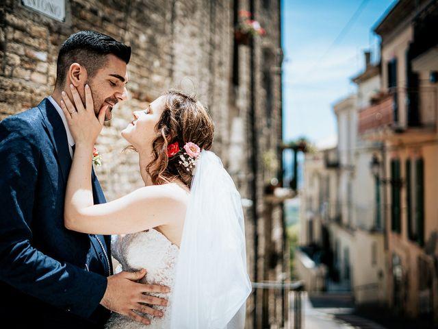 Il matrimonio di Simone e Simona a Tocco da Casauria, Pescara 34
