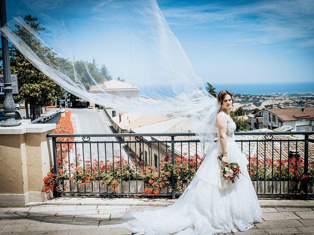 Il matrimonio di Simone e Simona a Tocco da Casauria, Pescara 41