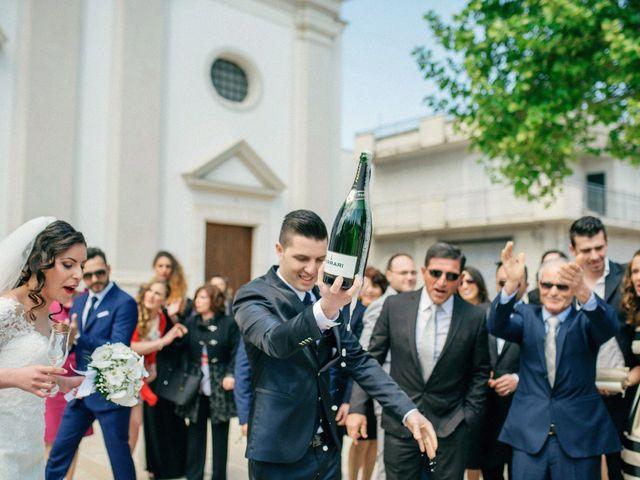 Il matrimonio di Luca e Rosaria a Trinitapoli, Foggia 84