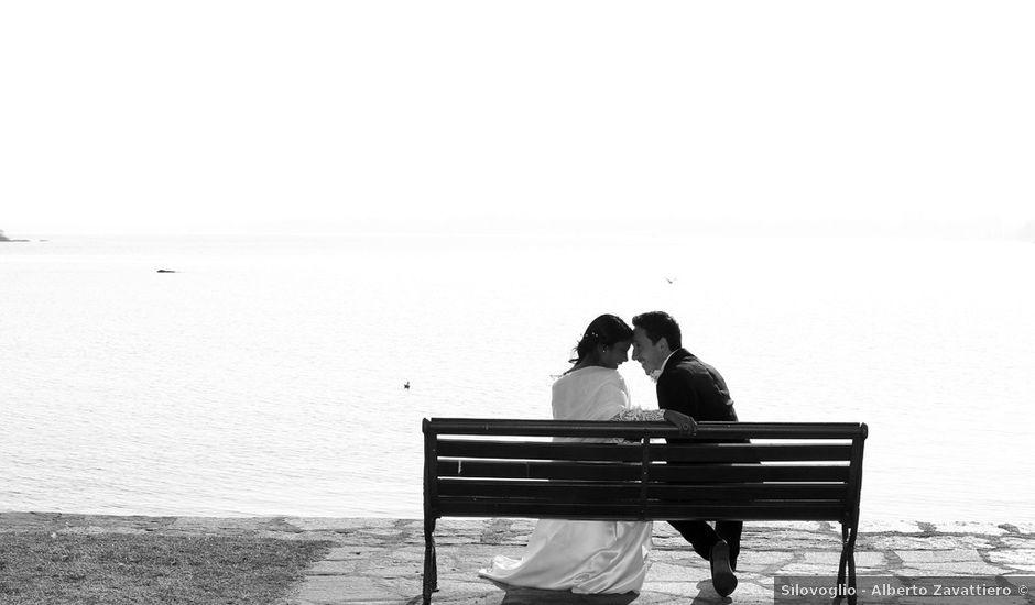 Il matrimonio di Fabio e Hime a Solbiate Arno, Varese