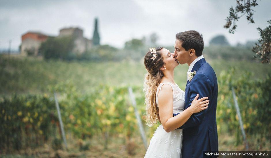 Il matrimonio di Lapo e Claudia a San Casciano in Val di Pesa, Firenze