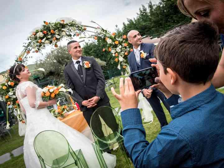 le nozze di Cinzia e El Mahi Chakib