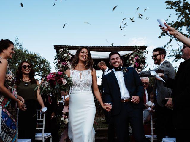 Il matrimonio di Matt e Aisha a Sinalunga, Siena 16