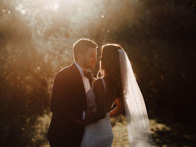 Il matrimonio di Matt e Aisha a Sinalunga, Siena 20