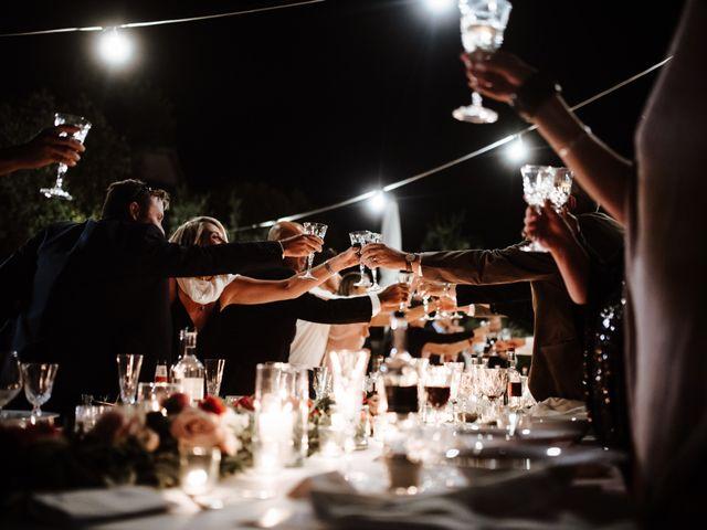 Il matrimonio di Matt e Aisha a Sinalunga, Siena 27